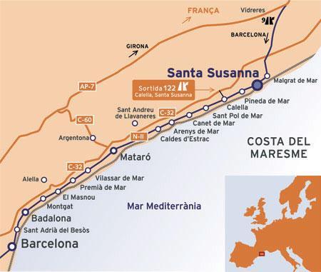 part_septentrional_de_la_comarca_del_maresme_situacio