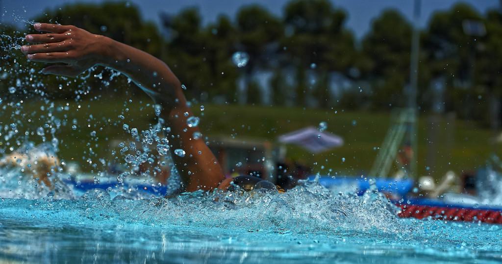 Uimareita käy täällä joka puolelta maailmaa